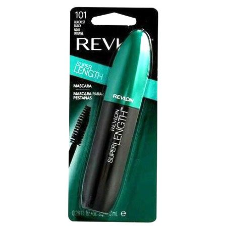 Revlon Mascara Super Length 101 Blackest Black x 6