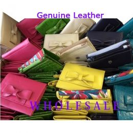 Leather Purses Wholesale Assorted colours x 12
