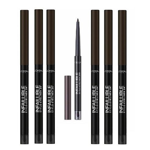 LOreal Paris Infallible Eyeliner 300 Chocolate Addiction x 12
