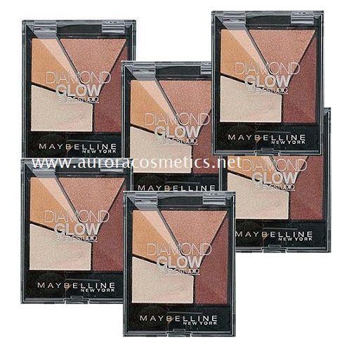 Maybelline Wholesale Diamond Glow Eyeshadow Quad x 12