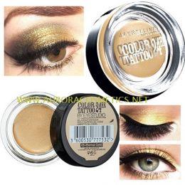 Maybelline 24HR Color Tattoo Eyeshadow 05 Eternal Gold x 6
