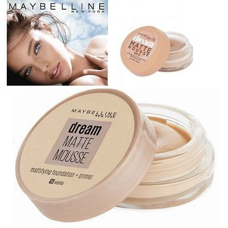 Maybelline Dream Matte Mousse & Primer Make-up x 6