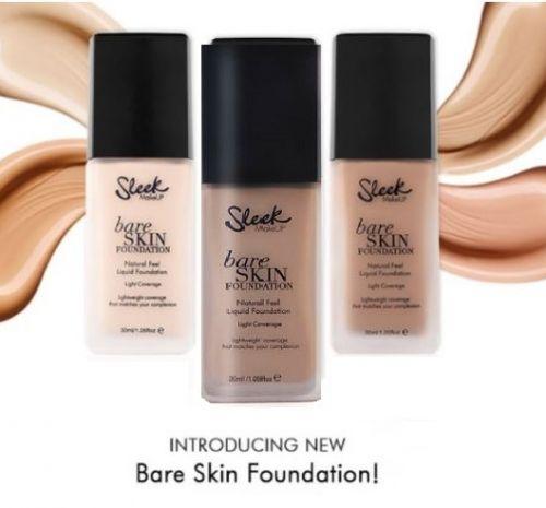 Sleek Bare Skin Foundation Praline X 6