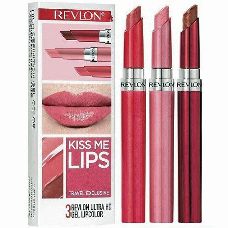 Revlon Kiss Me Lips  x 3