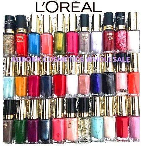 50x Wholesale L'Oreal Color Riche Nail Polish