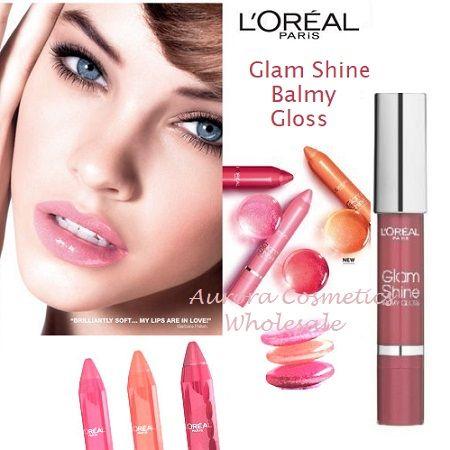 LOreal Glam Shine Balmy Gloss x 12
