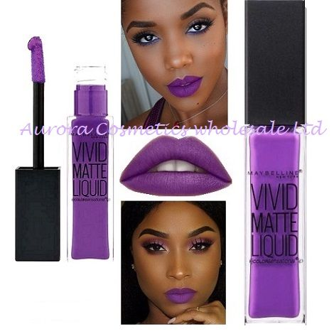 Maybelline Wholesale Lipsticks Vivid Matte 43 Liquid x 12