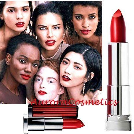 Maybelline Lipstick 527 Lady Red x 12