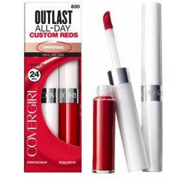 Covergirl Outlast Lip Colour 830 Reds x 6