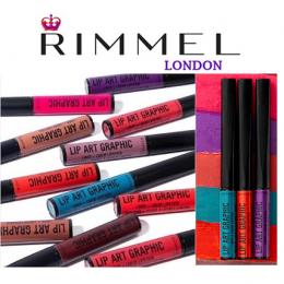 Rimmel Lip Art Graphic Liquid Lipstick x 12