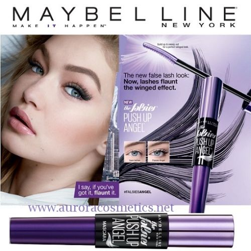 Maybelline The Falsies Push Up Angel Mascara Black x 12