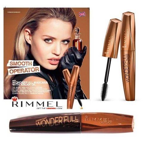 Rimmel Wonder'full Mascara with Argan Oil Black x 6
