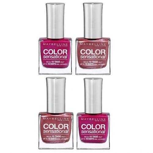 Maybelline Color Sensational Nail Polish x 20