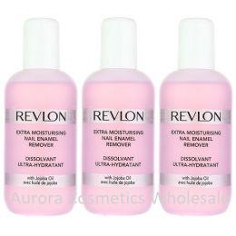Revlon Moisturising Nail Enamel Remover x 3