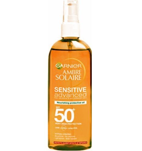 Garnier Ambre Solaire Wholesale Sensitive Advanced Nourishing Protective Oil 50+x 1